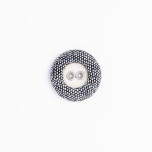 アルバロータス リネン ハトメ くるみボタン 2つ穴