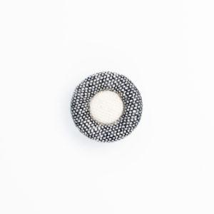 ドーナツ ロータス 縁付き くるみボタン