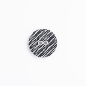 フラットリネン 2つ穴 くるみボタン