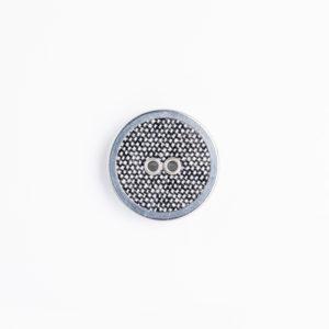 FMフラットリネン ハトメ 2つ穴 くるみボタン