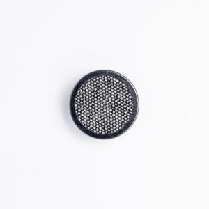 FM フラット リング くるみボタン
