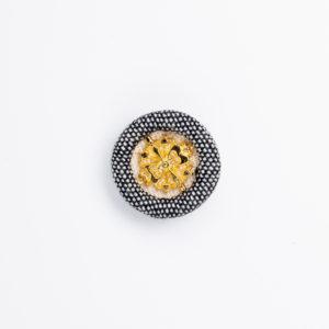 ka-2 くるみボタン ロータス 装飾 金属パーツ