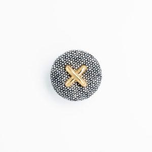 pパーツ p-10 平クルミ くるみボタン