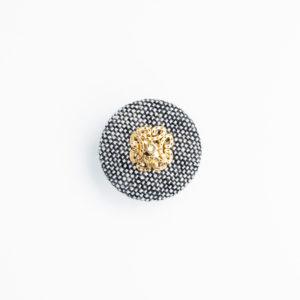 pパーツ p-11 平クルミ くるみボタン
