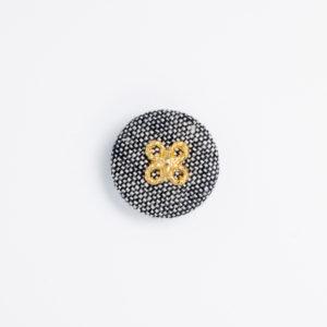 pパーツ p-2 平クルミ くるみボタン