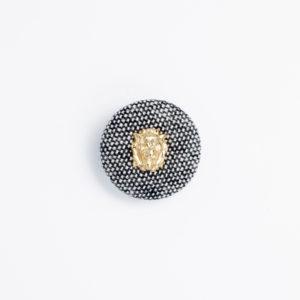 pパーツ p-4 平クルミ くるみボタン