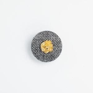 pパーツ p-5 平クルミ くるみボタン