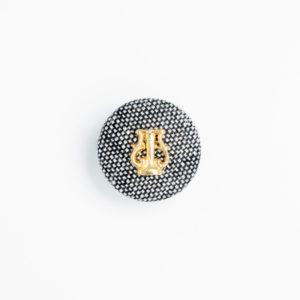 pパーツ p-6 平クルミ くるみボタン