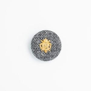 pパーツ p-7 平クルミ くるみボタン