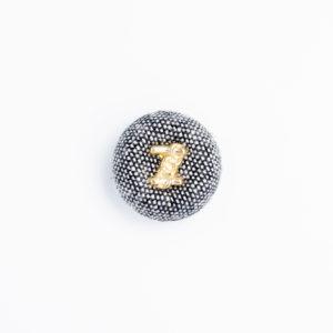 pパーツ pプリン1 プリン くるみボタン