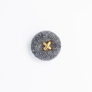 pパーツ pプリン10 プリン くるみボタン
