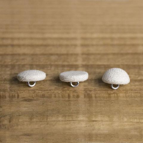 くるみボタンの種類・平くるみ・フラットクルミ・ハーフトップ
